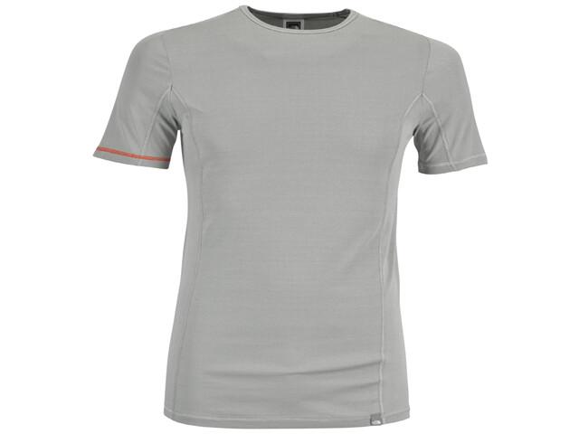 The North Face Light Shortsleeve Shirt Men s/s crew neck grey/white